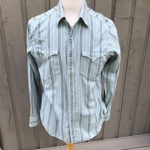 Polo Ralph Lauren Striped Western Style Shirt
